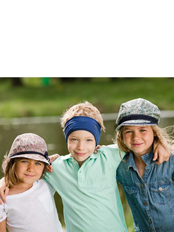 Детски летни шапки